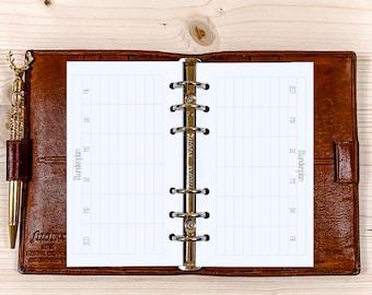20 x Timetable ・ Personal Filofax ・ 120g • 2022