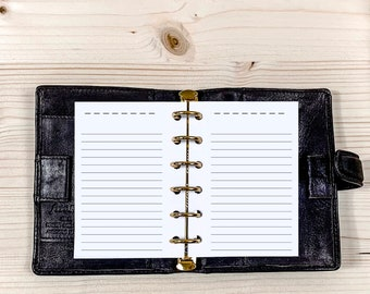 60 x Blank list Lined - Pocket x 120g • 2021