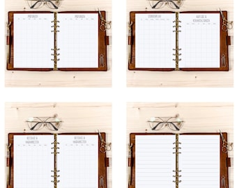 Uni & School Set・ A5 Filofax ・ 120g • 2022