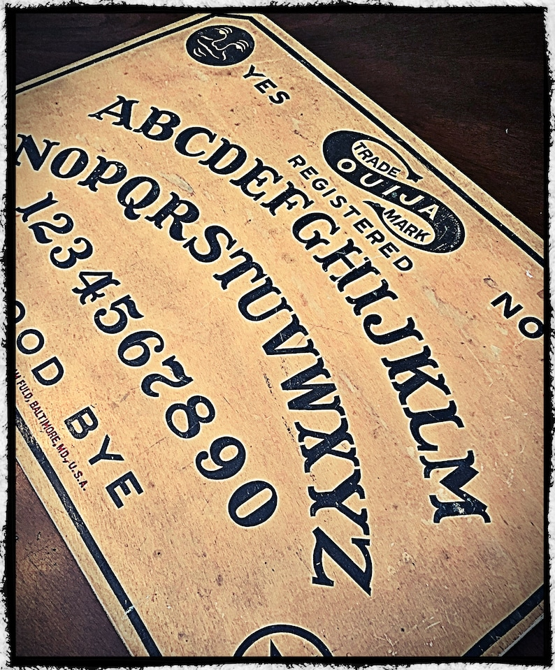 1919 Antique Ouija Board Etsy