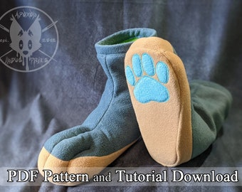 Fleece SockPaw Pattern and Tutorial