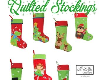 Christmas Stockings, Personalized Stockings, Monogrammed Stockings, Embroidered Stockings