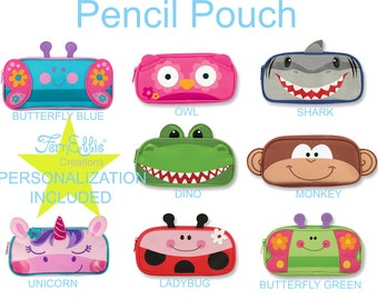Stephen Joseph Pencil Pouch 8 Different  Designs