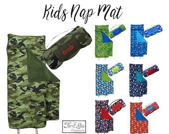 READY to SHIP, Stephen Joseph All Over Print Personalized Nap Mats, Boys and Girls, Sleeping Bag, Personalization Included!