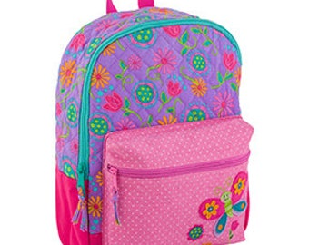 Stephen Joseph Quilted Butterfly  Rucksack / Backpack