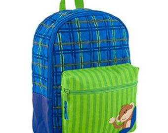 Stephen Joseph Quilted Monkey Rucksack / Backpack