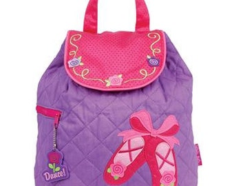 Ballet Shoes Quilted Backpack by Stephen Joseph