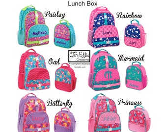 c23f74aaf1c4 FREE PERSONALIZTION All Over Print Backpack and Lunch Box