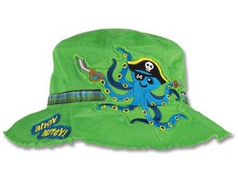 Octopus Bucket Hat by Stephen Joseph