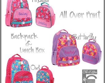 Stephen Joseph All Over Print Backpack and Lunch Box 12cd20cf82575