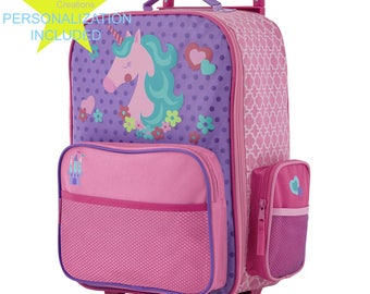 UNICORN Stephen Joseph Classic Rolling luggage