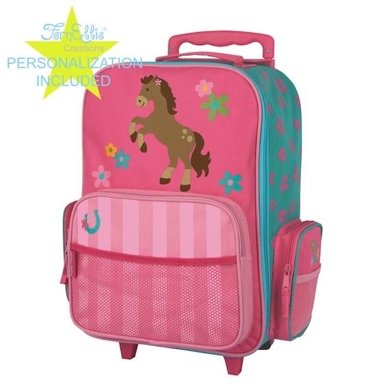 HORSE Stephen Joseph Classic Rolling luggage