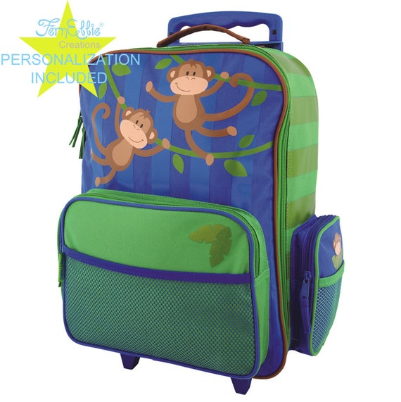 MONKEY Stephen Joseph Classic Rolling luggage