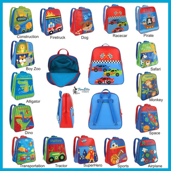 Stephen Joseph Go Go Backpack, Persnoalized Backpack, Kids Backpack, Back To School, Boys Backpack, Girls Backpack, Preschool Bookbag