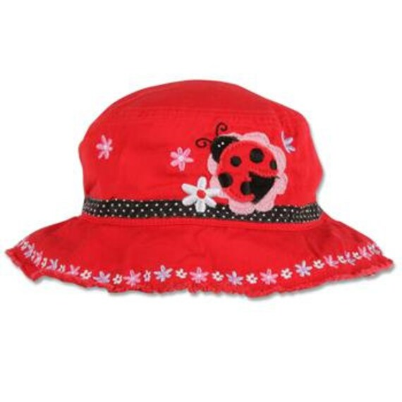 LADYBUG Bucket Hat by Stephen Joseph