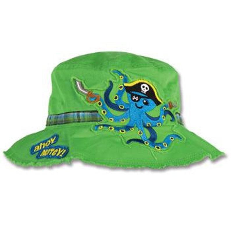d9a2cdcf567 TODDLER Stephen Joseph Octopus Pirate Bucket Hat