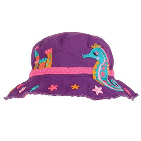 SEAHORSE Bucket Hat by Stephen Joseph