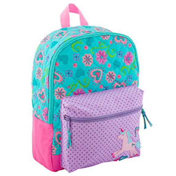 Stephen Joseph Quilted Unicorn Rucksack / Backpack