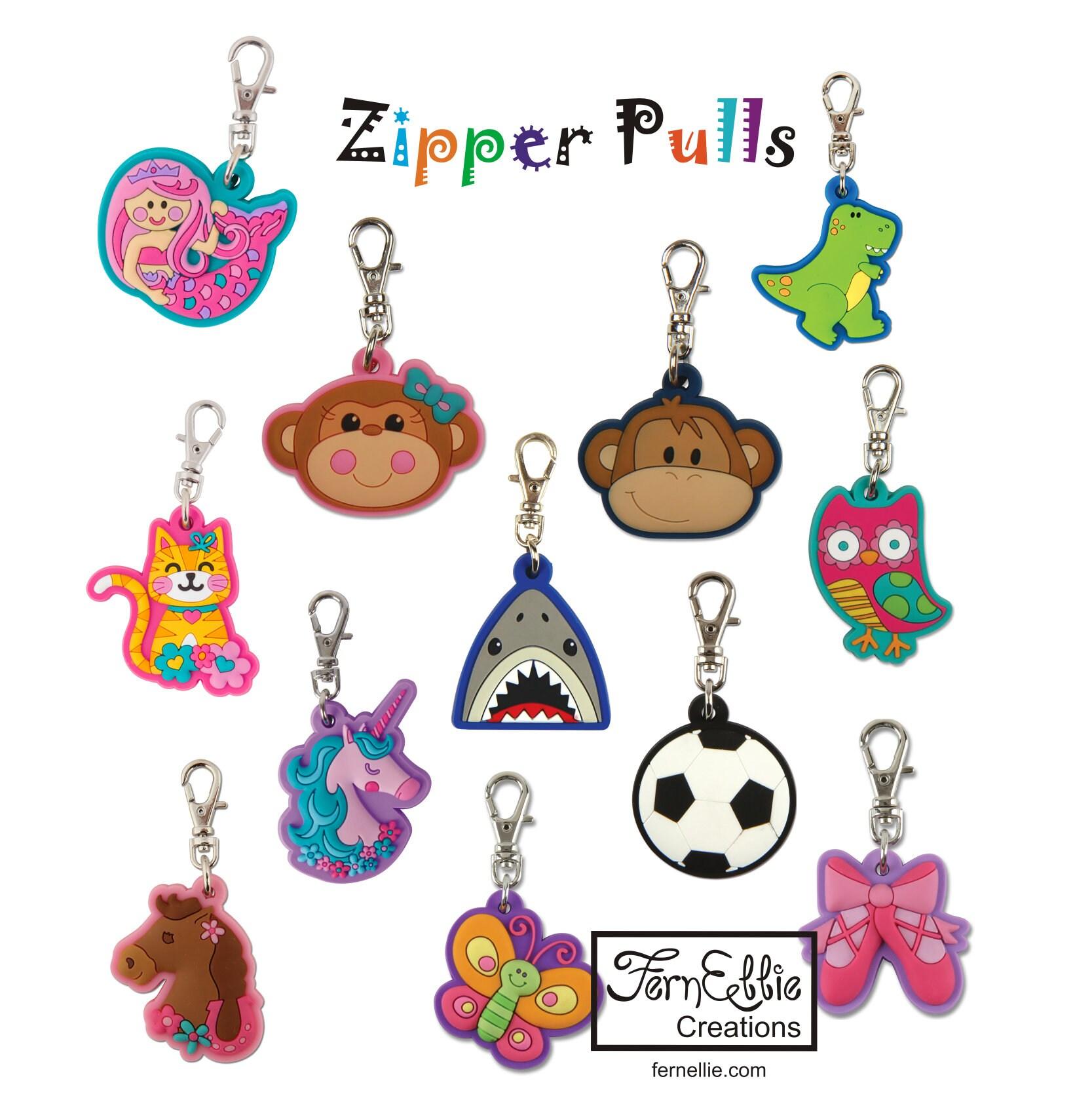 0164d807560c FREE Shipping **US Only** Stephen Joseph Zipper Pulls/Keychain Charm ...