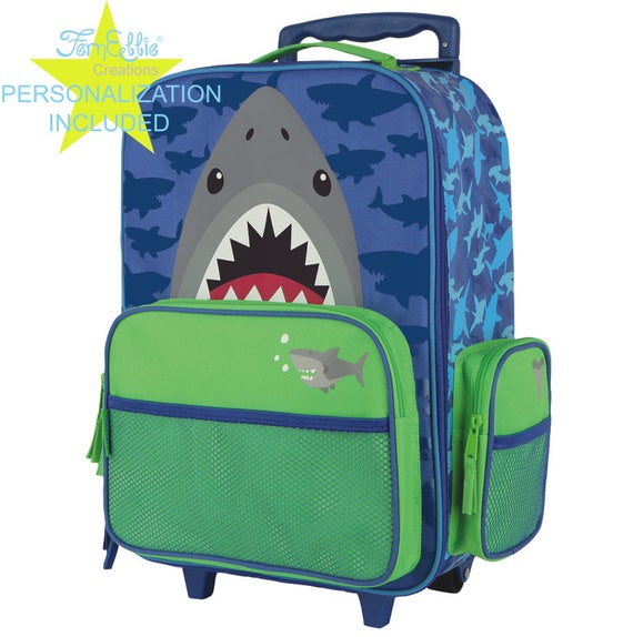 SHARK  Stephen Joseph Classic Rolling luggage