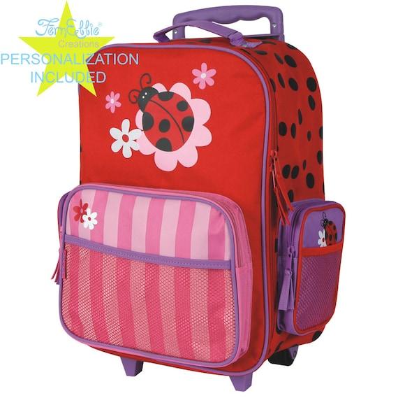 LADYBUG Stephen Joseph Classic Rolling luggage