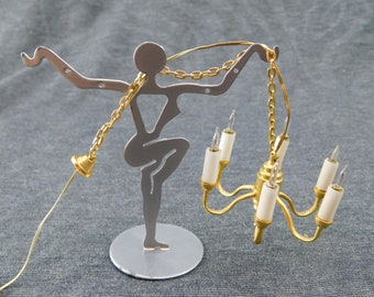 Dollhouse Miniature Ballerina Trophy by Island Crafts /& Miniatures