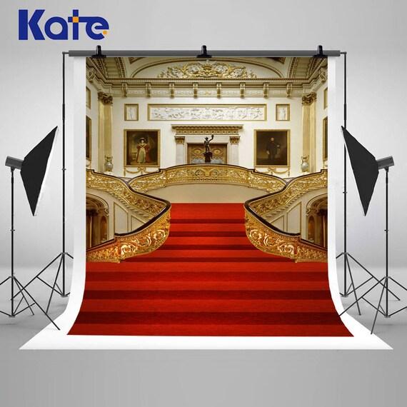 Red Carpet Chandelier: Wedding Photography Backdrops Red Carpet Backgrounds