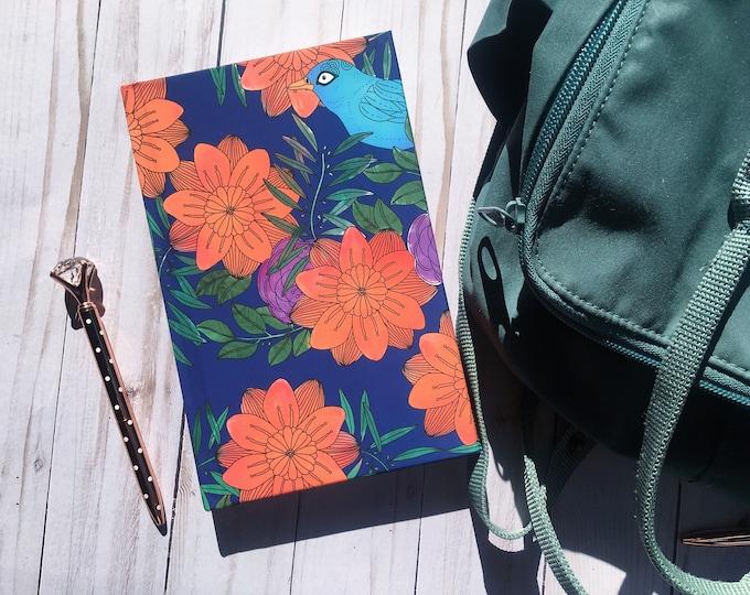 Featured listing image: DIY Planner | Orange Marmalade Undated Blank Dot Grid Weekly Planner; Coloring Planner, Bullet Journal, Agenda, BuJo, Premade Bullet Journal