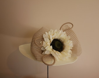"Kentucky Derby Hat  - ""Sophisticated Saddle"""