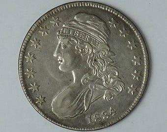 Bust Half Dollar; 1834