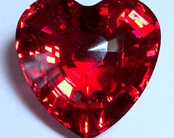 Swarovski Crystal Red Heart