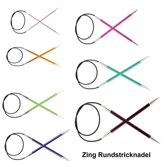 Knit Pro 120 cm x 8 mm Fixed Circular Needles Multi-Colour