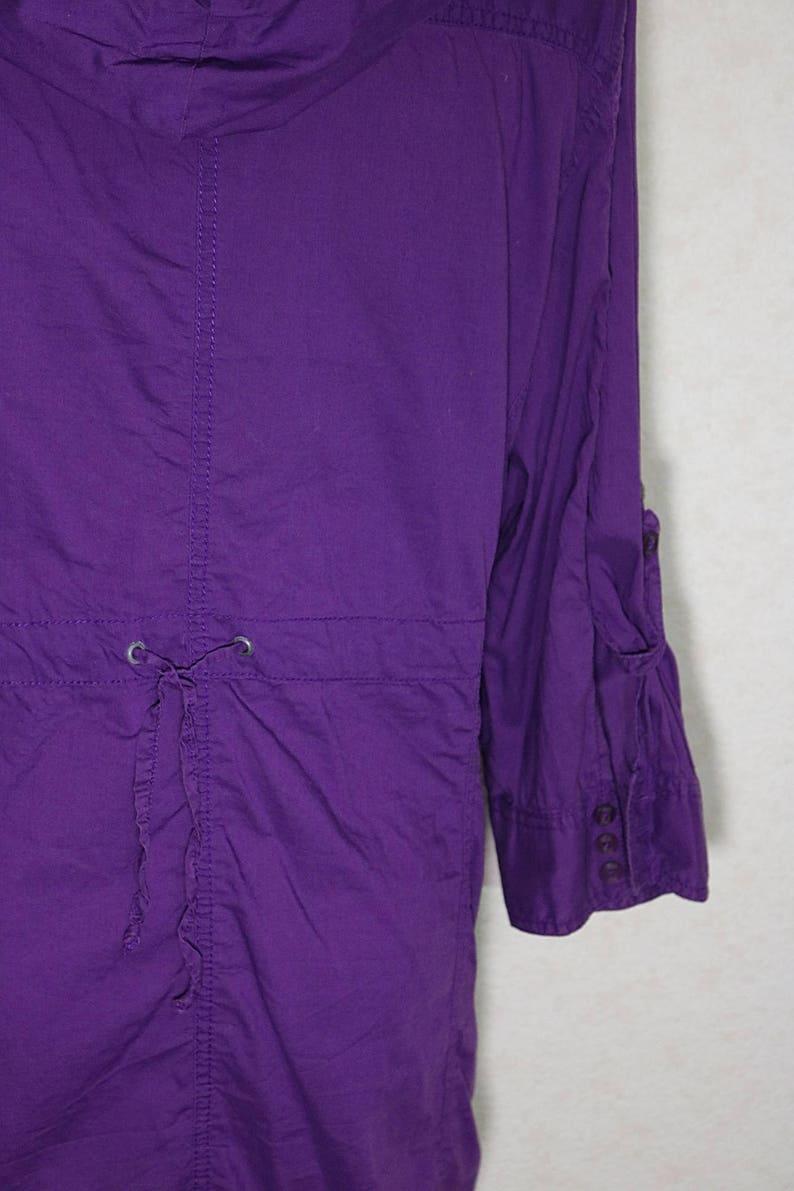 90s jacket women Lilac women jacket,12 sleeve,Womens Vintage jacket,summer jacket,Large size