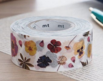MT For Pack Pressed Flower MT Tape | Japanese Masking Tape Packing Material MT 2016 Summer Collection (MTPACK09)