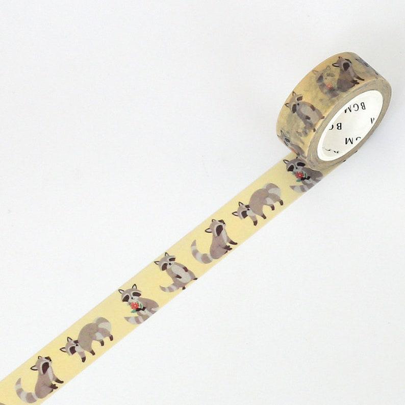 Washi Tape - Life Mushroom BGM Masking Tape 15mm