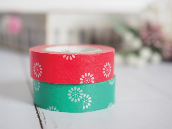Kurenaigiku washi tape & Natsukusa washi tape | Japanese MT Tape, MT 2018 Summer Collection, Cute Craft Supplies