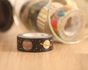 MT Washi Tape Planet Japanese Masking Tape | mt for kids  (MT01KID022)