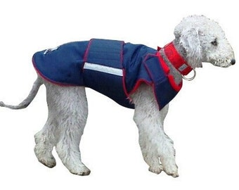 Winter Dog Coat - Dog Jacket - Custom made Dog Coat - Waterproof / Fleece coat - custom made for your dog