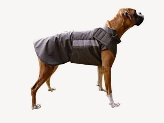 boxer hund softshell mantel individuelle hund wintermantel. Black Bedroom Furniture Sets. Home Design Ideas