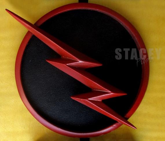 cw reverse flash zoom black flash chest resin replica etsy