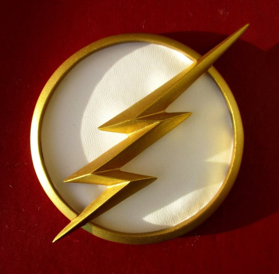 Cw The Flash Chest Resin Emblem Season 1 234 Ultimate Etsy