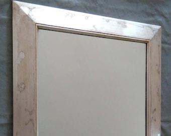 Mirror wall in silver - Art Nouveau mirror