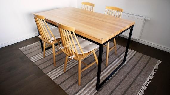 Tavolo Da Pranzo Industriale : Tavolo tavolo da pranzo reception ufficio industrial etsy
