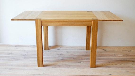 Bad Tafel Hout : Tafel eettafel opklapbare tafel houten tafel etsy
