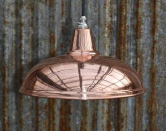 Beautiful vintage styled copper ceiling light hanging lamp shade pendant lamp NCSR4