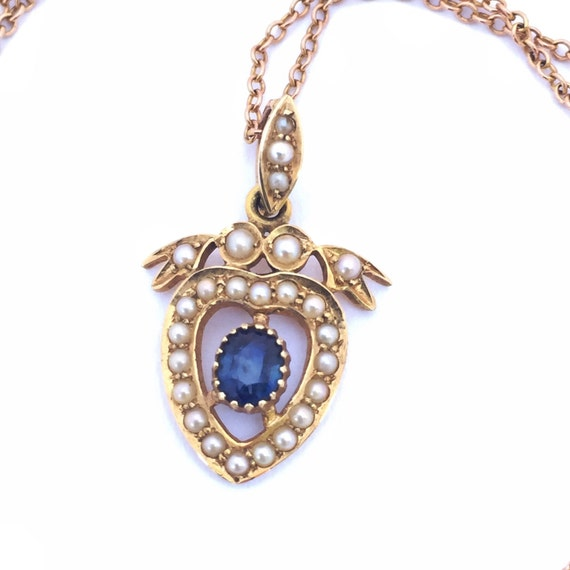 Heart Necklace | Vintage Necklace | Heart Pendant