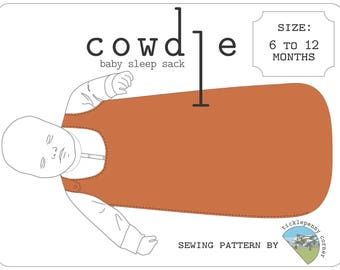 Cowdle Baby Sleep Sack Pattern 6 to 12 months