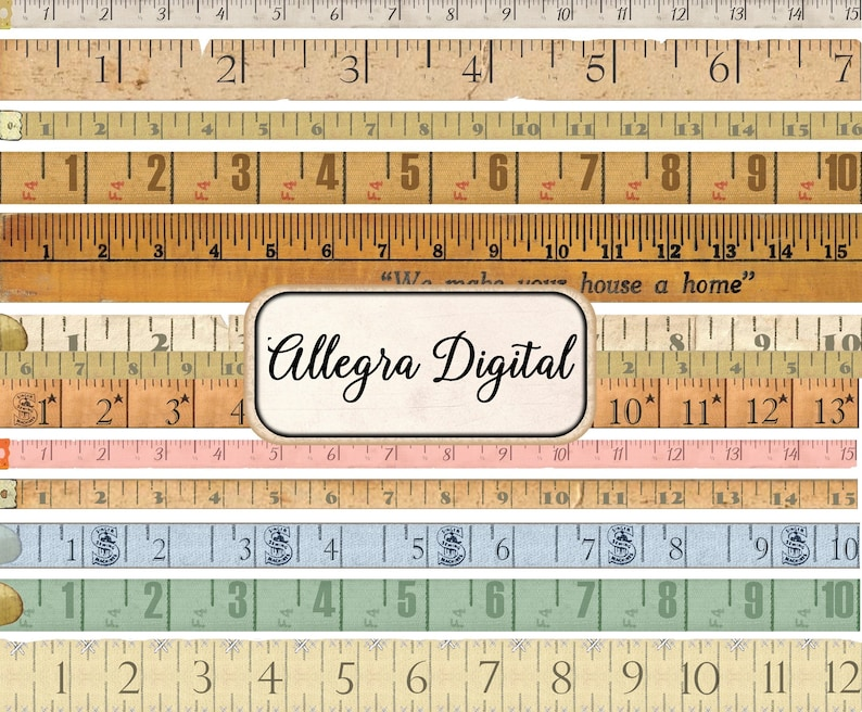 photo relating to Printable Tape Measures referred to as Classic Tape Evaluate measuring aged printable paper craft artwork interest writing sbooking immediate down load electronic collage sheet ephemera
