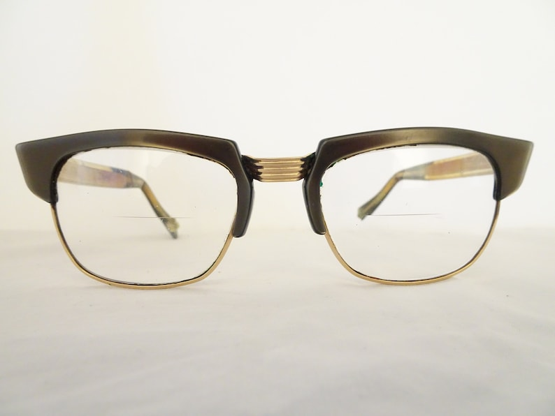 a03f045237 Vintage A.M.S.A 1 20 14K Gold Filled Rockabilly Eyeglass