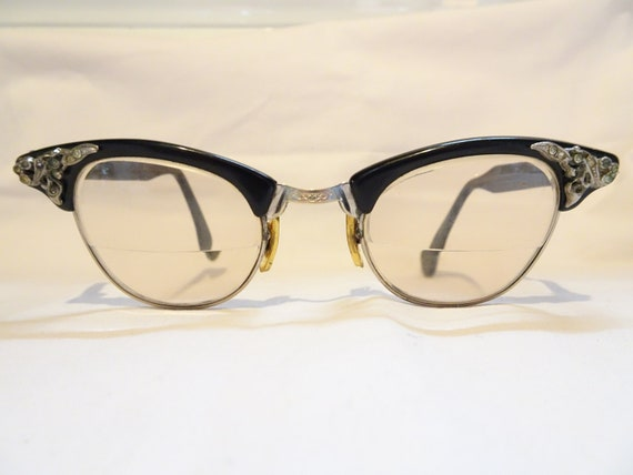 e9b9c461dea Vintage Risco Cat Eye Eyeglasses Free Shipping
